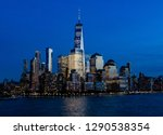 sailing down the hudson river... | Shutterstock . vector #1290538354