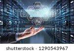 industrial integration... | Shutterstock . vector #1290543967