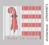 barcode set the color of jura... | Shutterstock .eps vector #1290549871