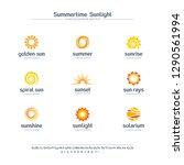 summer time  sun light creative ... | Shutterstock .eps vector #1290561994