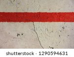 cracked white concrete surface... | Shutterstock . vector #1290594631