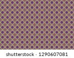 geometric abstract pattern.... | Shutterstock . vector #1290607081