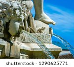 the city of nimes france is... | Shutterstock . vector #1290625771
