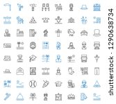 hat icons set. collection of... | Shutterstock .eps vector #1290638734
