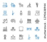 pipe icons set. collection of... | Shutterstock .eps vector #1290638944