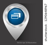 credit card icon and map pin....