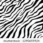 vector zebra pattern for... | Shutterstock .eps vector #1290655924