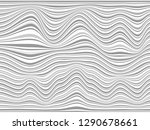 warped gray lines made for your ...   Shutterstock . vector #1290678661