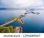 atlantic ocean road or the... | Shutterstock . vector #1290689047