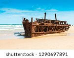 Famous Maheno Shipwreck On...