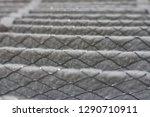 house air filter close up       ... | Shutterstock . vector #1290710911