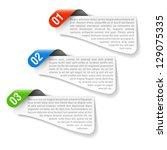 design element. vector. | Shutterstock .eps vector #129075335