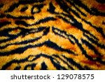 Tiger Leather Texture With...