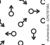 male gender symbol icon... | Shutterstock .eps vector #1290787381