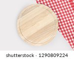 cutting board or chopping board ... | Shutterstock . vector #1290809224
