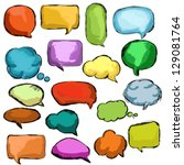 bubbles | Shutterstock .eps vector #129081764