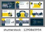 abstract presentation templates ...   Shutterstock .eps vector #1290865954
