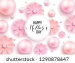 happy mother's day layout... | Shutterstock .eps vector #1290878647