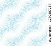 square halftone seamless...   Shutterstock .eps vector #1290887254