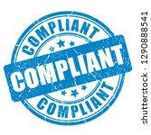 ink compliant grunge stamp on...   Shutterstock .eps vector #1290888541