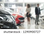 close up of black car headlight.... | Shutterstock . vector #1290900727