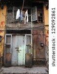 Old House In Yangon Burma