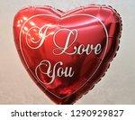 balloon heart red   Shutterstock . vector #1290929827