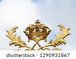 golden crown statue | Shutterstock . vector #1290931867