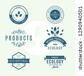 set of labels and stickers for... | Shutterstock .eps vector #1290940501