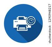 printer icon  technology icon... | Shutterstock .eps vector #1290948217