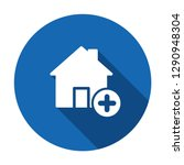 house icon  buildings icon with ... | Shutterstock .eps vector #1290948304