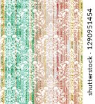 vintage damask seamless pattern ... | Shutterstock . vector #1290951454