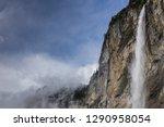 springtime at lauterbrunnen... | Shutterstock . vector #1290958054