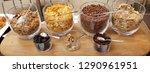 cereal jars for breakfast | Shutterstock . vector #1290961951