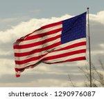 american flag pic in arizona   Shutterstock . vector #1290976087