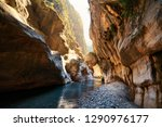 amazing view of goynuk canyon ... | Shutterstock . vector #1290976177