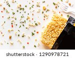 Packaged Instant Noodles With...