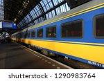 amsterdam  netherlands 2017 11... | Shutterstock . vector #1290983764