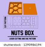 it is a specific laser cutting...   Shutterstock .eps vector #1290986194