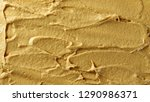 yellow mustard sauce  spread... | Shutterstock . vector #1290986371