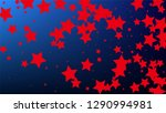 colours of american flag. usa...   Shutterstock .eps vector #1290994981