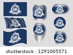 flag of charleston  south...   Shutterstock .eps vector #1291005571