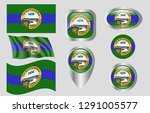 flag of chattanooga  tennessee   Shutterstock .eps vector #1291005577