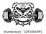black and white illustration of ... | Shutterstock .eps vector #1291006591
