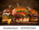 close up of home made tasty... | Shutterstock . vector #1291051564