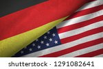 germany and united states two...   Shutterstock . vector #1291082641