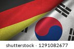 germany and south korea two...   Shutterstock . vector #1291082677