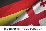 germany and georgia two flags...   Shutterstock . vector #1291082797
