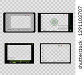 camera viewfinder on... | Shutterstock .eps vector #1291103707