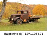 Old Rusty Truck Decorated For...